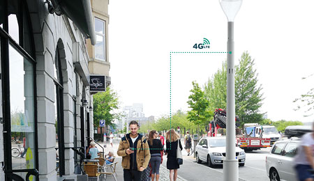 Philips Lightpole Site Slim mit 4G LTE