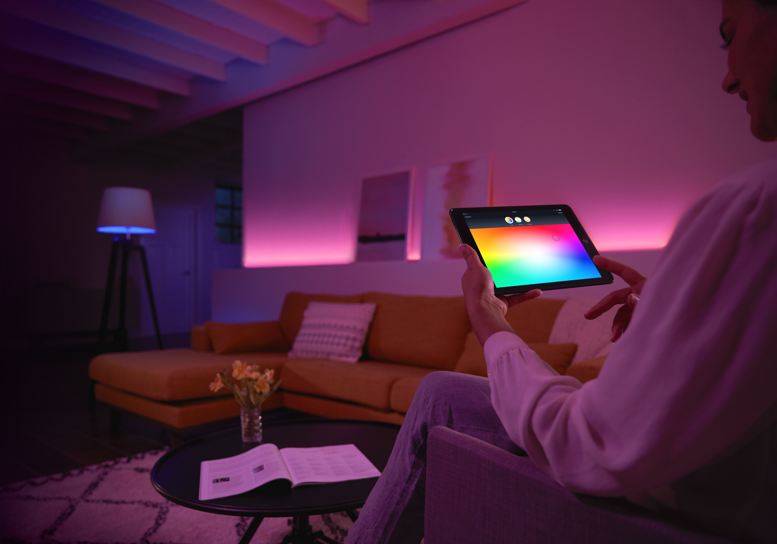 Philips Licht Hue : Ambiente gestalten newsroom philips lighting