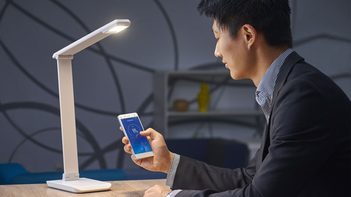 Philips EyeCare connected desk lamp