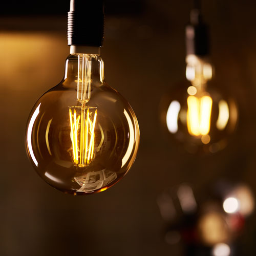 Philips classic LED bulb on