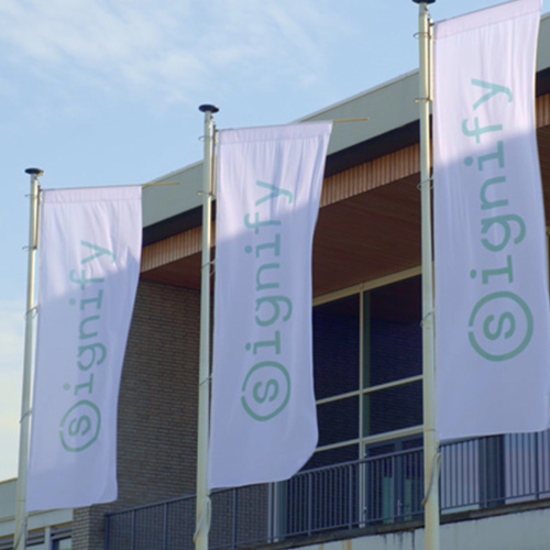 Signify HQ at High Tech Campus Eindhoven (front angle close-up)