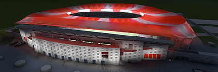 Atletico Madrid exterior