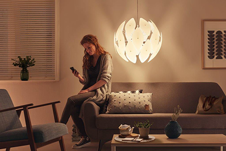Philps luminaires smart volume pendant
