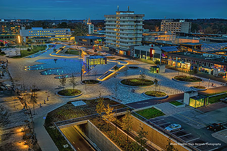 Emmen City Center Renovation Project, Emmen, the Netherlands