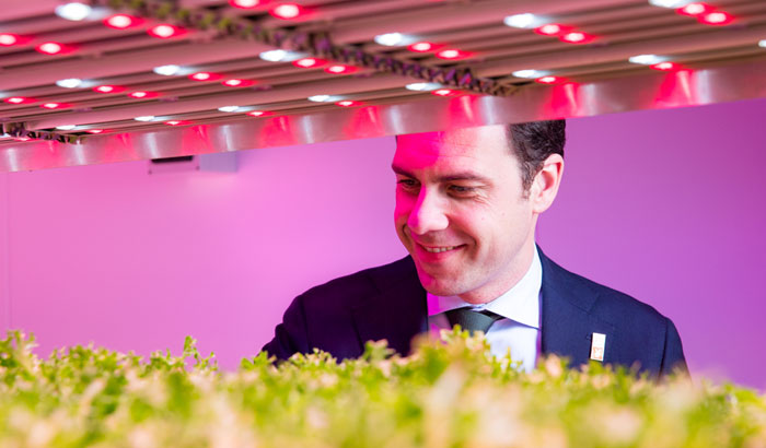 Dutch Minister Martin van Dam GrowWise