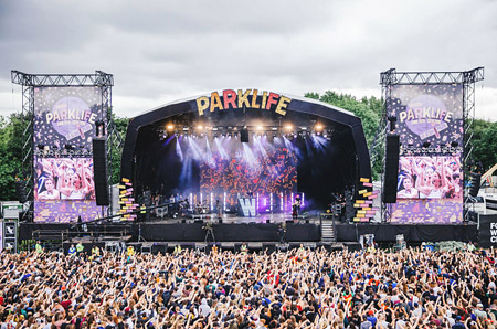 Philips Showline strobe lights pack a festival-sized punch for Wilkinson Live at Parklife