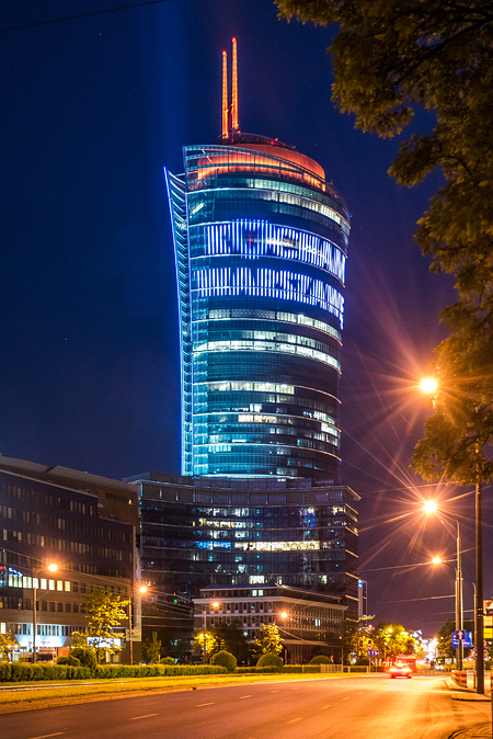 Business Highlight Warsaw Spire