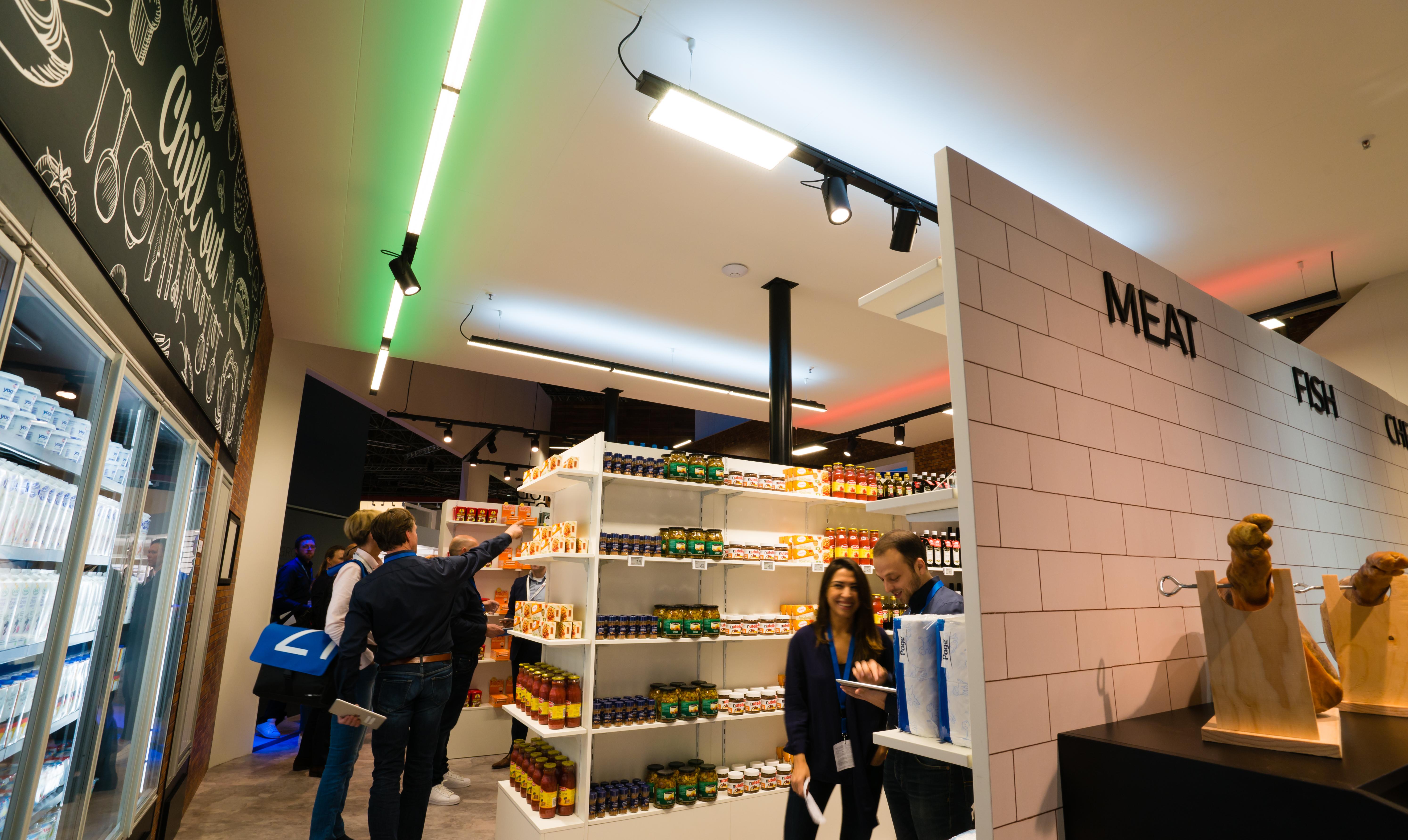 philips lighting cracks code of shopper behavior proving how colored lighting boosts supermarket
