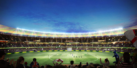 Perth Stadium Artist Impression