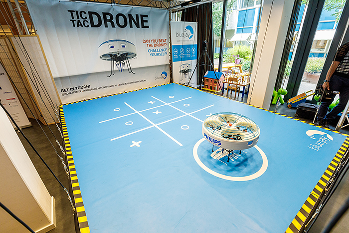 First autonomous indoor drone by Blue Jay which navigates