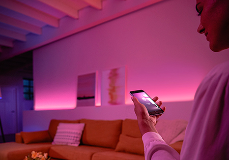 Philips Hue colored scenes