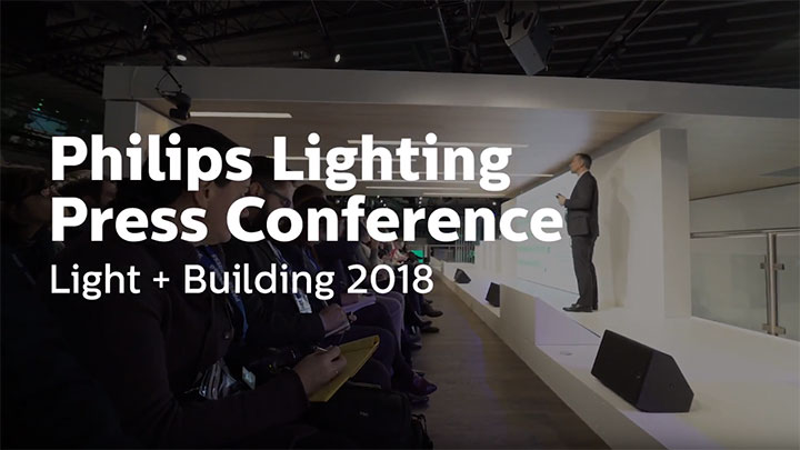 Philips Lighting Press conference Light+Building