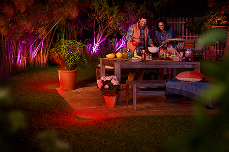 Philips Hue goes outdoor in 2018