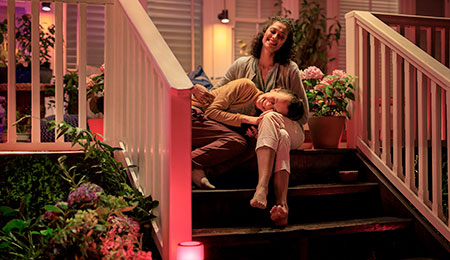 Extend your smart lighting system this summer with the new Philips Hue outdoor range
