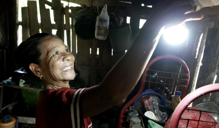 Bright energy saving villages, Indonesia