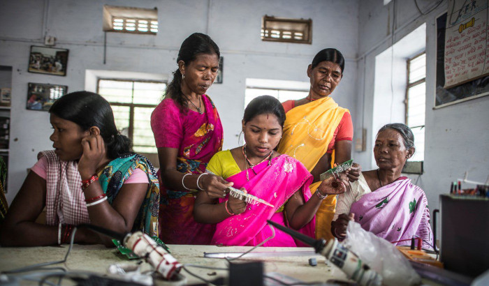 Powering the solar mamas at Barefoot College