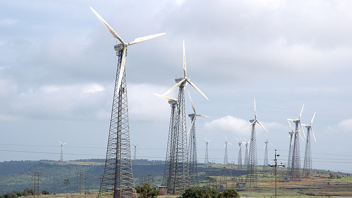 Sahyadri windpower in India