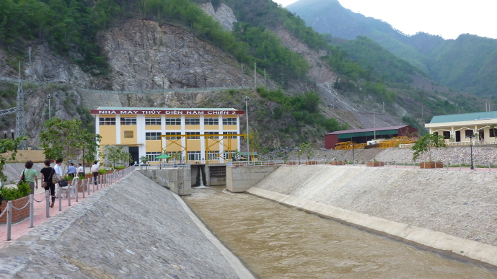 Mytrah wind power in Run-of-river hydropower in Vietnam