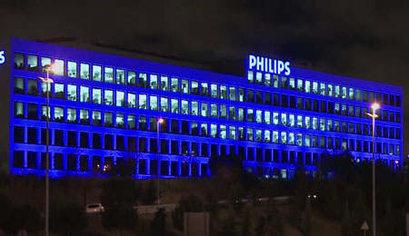 Philips Lighting neutral de carbono en Iberia