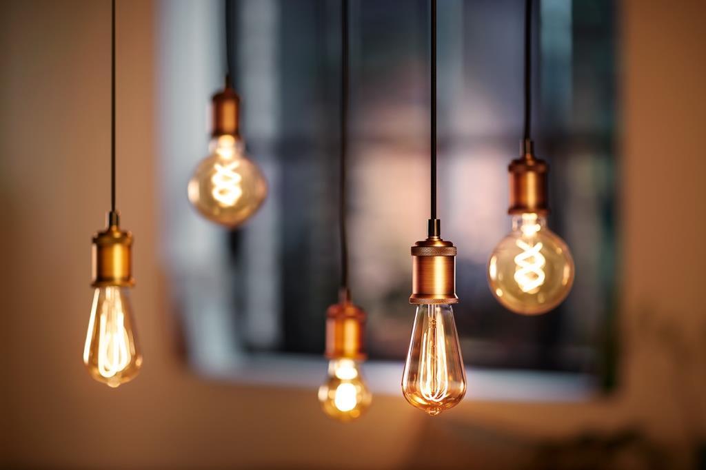 Giant vintage le lampadine vintage fatte per essere ammirate
