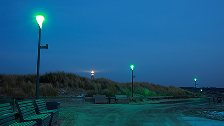Duurzame connected straatverlichting Ameland