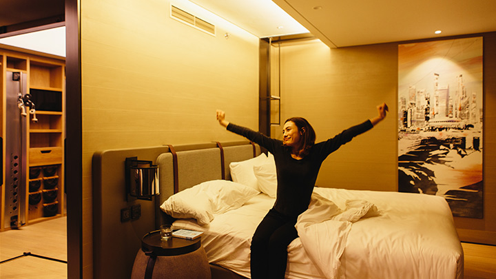 Sweet dreams are made of this – world's first hotel room built around feeling energized after a good night's rest