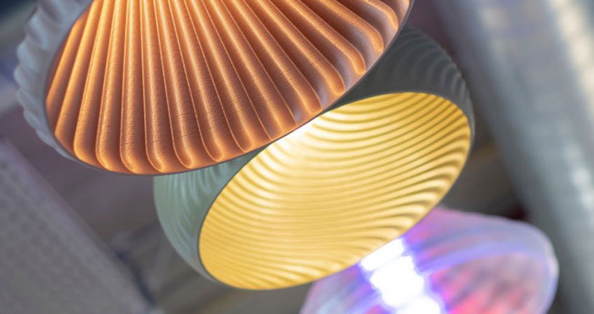 3d printed luminaires