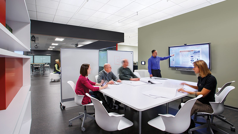 Open Office Meeting Room