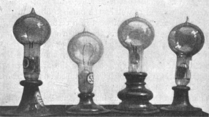 "In October 1879, Edison ""perfected"" the light bulb"