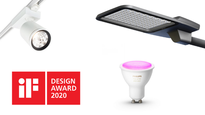 Ten Signify products win prestigious iF Design Awards 2020