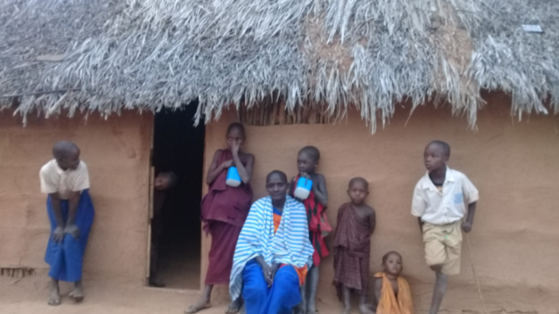 Solar lights to families