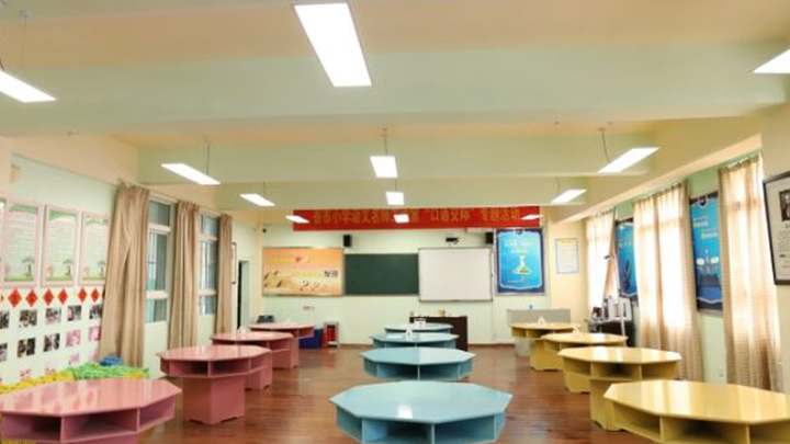 Light for better learning in China