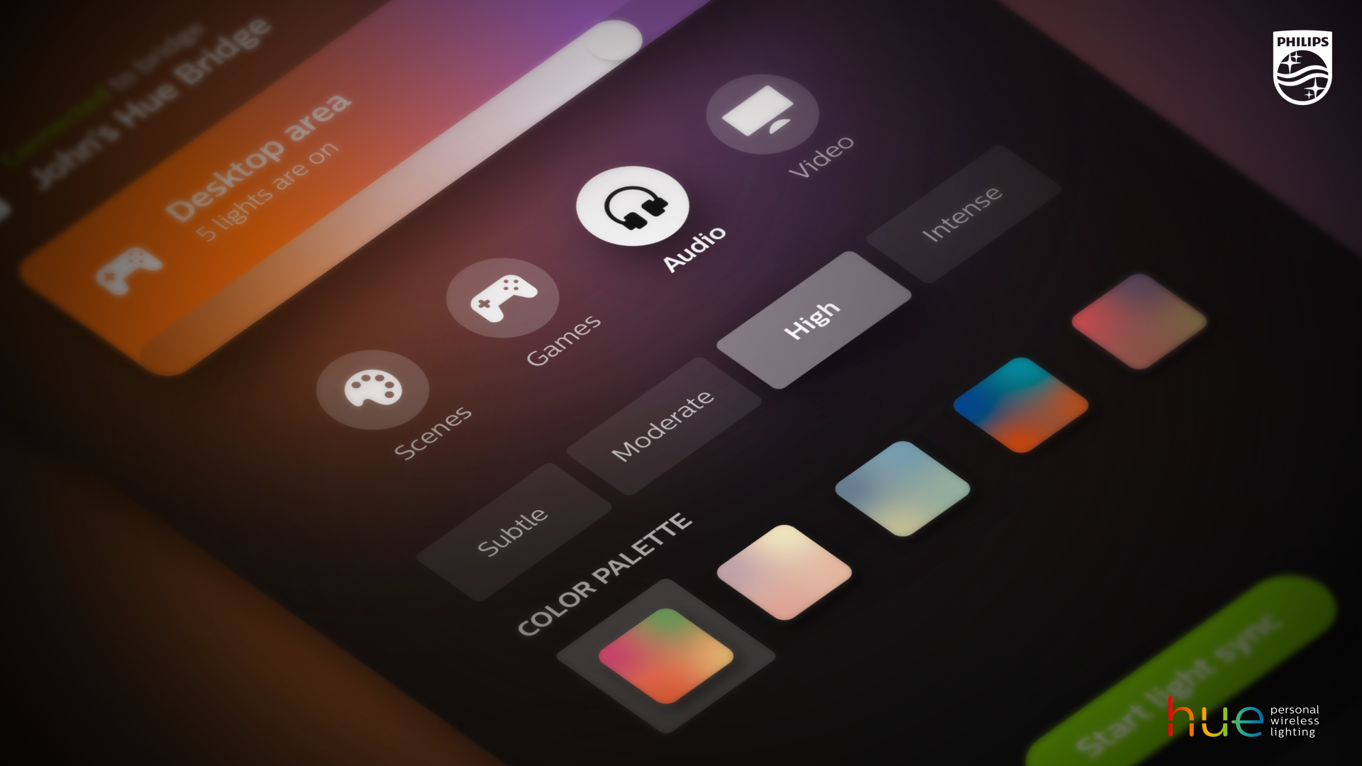 """Create """"surround sound for your eyes"""" with new Philips Hue Sync"""
