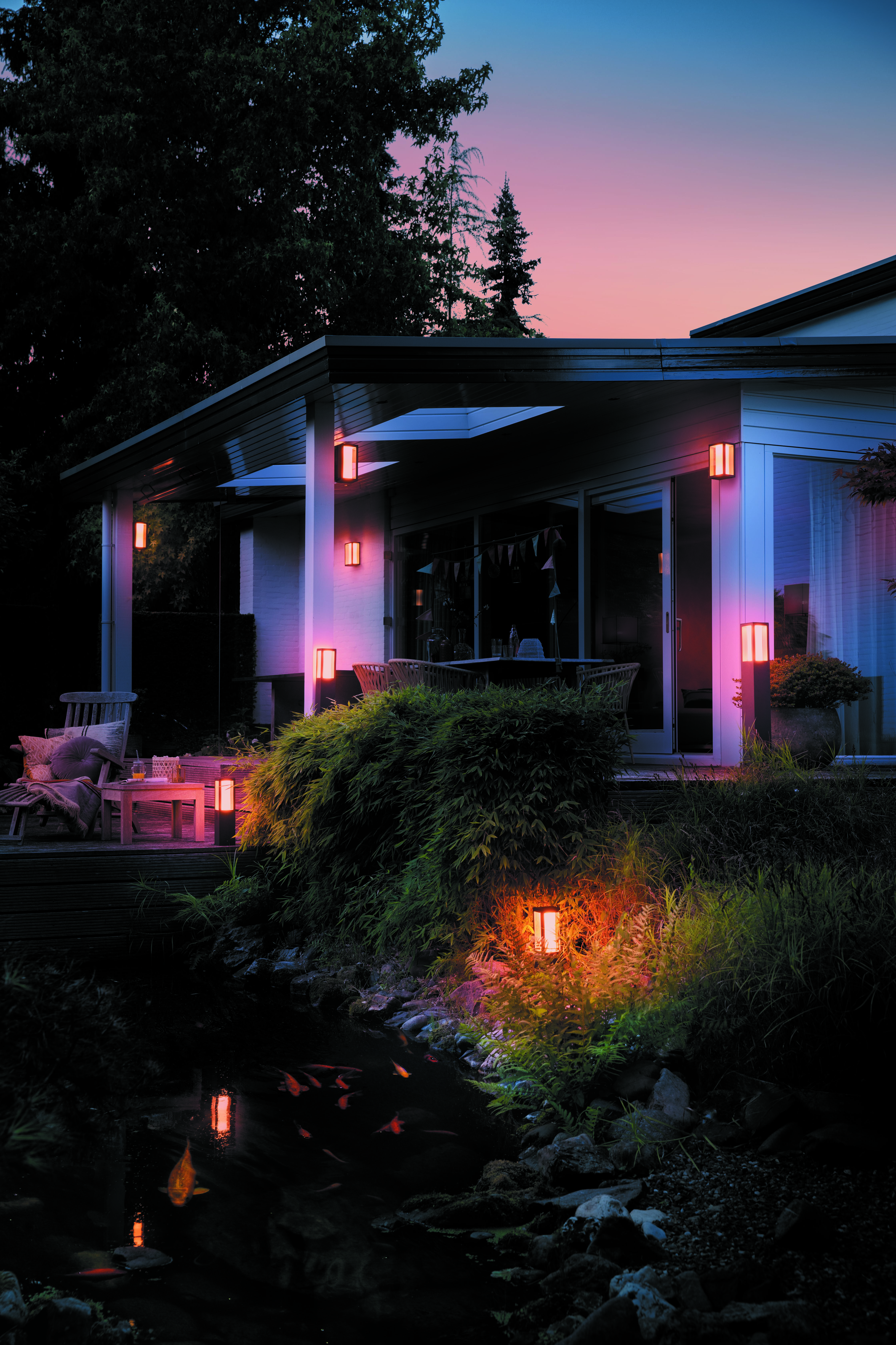 sale retailer 362e6 ef335 Philips Hue extends Outdoor range | Signify Company Website