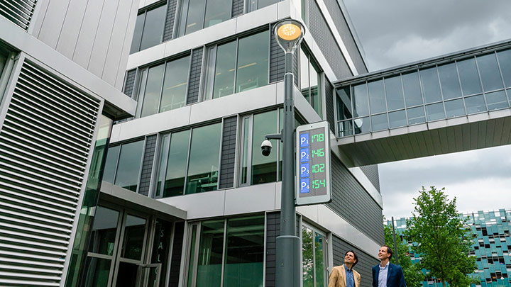 New BrightSites smart pole by Signify turbocharges cities' smart city infrastructure and looks good doing it