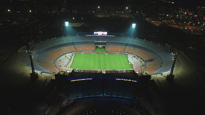 Signify lights up African Cup of Nations 2019 with new Philips ArenaVision in Egyptian stadiums