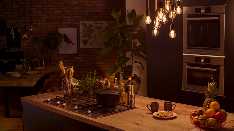 The Philips Hue Filament Collection Bring Vintage Style