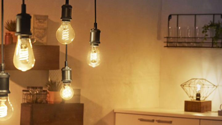 The Philips Hue Filament Collection Bring Vintage Style To