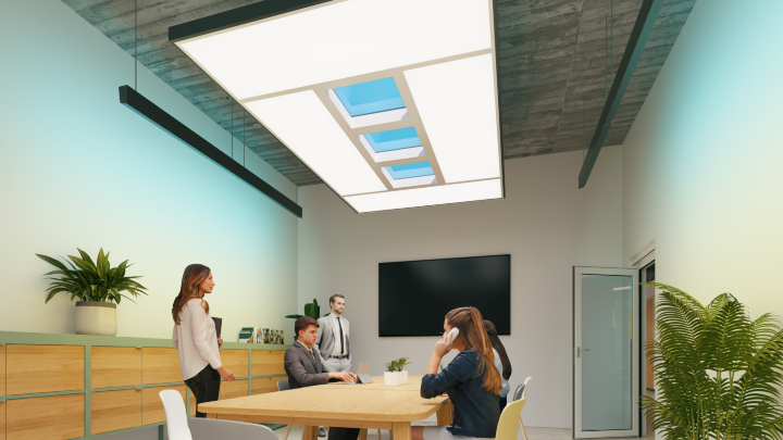 The sky is not the limit: Signify brings the benefits of natural light indoors