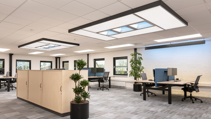 Lighting that stimulates employee wellbeing