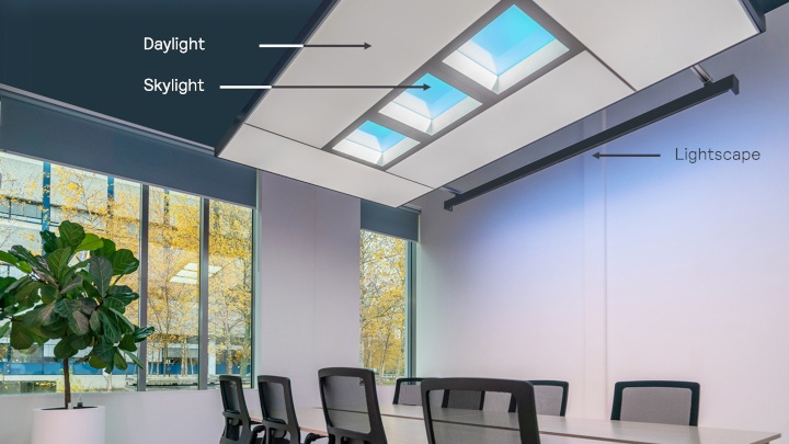 Human centric lighting in workplace