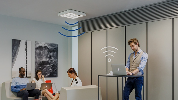 High-speed Internet using your lights with LiFi