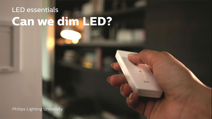 Can you dim LEDs?