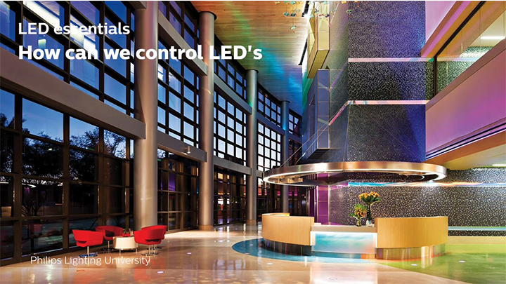 How can we control LEDs?
