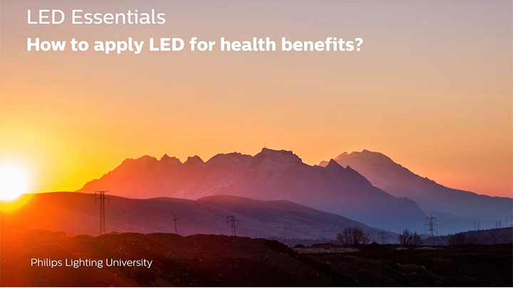 How to apply LEDs for health benefits?