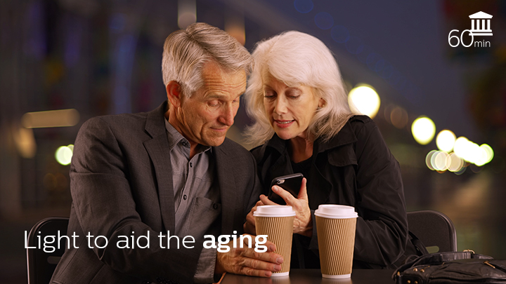 lighting aid to the aging