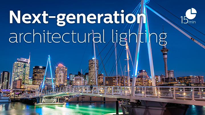 Next generation architectural lilghting - part 1