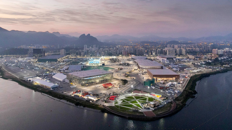 2016 Olympic Park and Venues, Rio, Brazil Photo ©