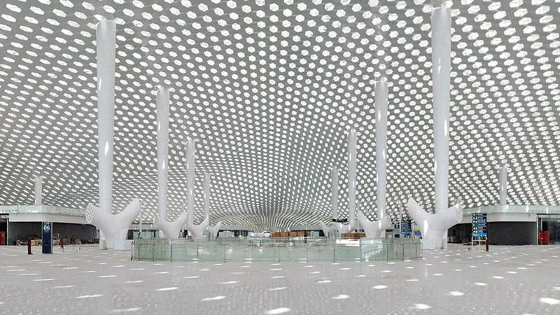 Chenzhen Bao'an International Airport, Guangdong, China © Archivio Fuksas_Shenzhen