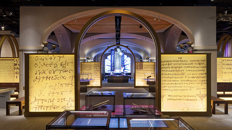 Museum of the Bible, History of the Bible exhibit, Washington DC, Available Light © Jay Rosenblatt